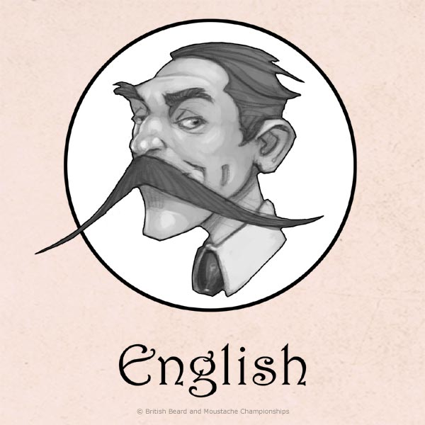 English Moustache Category