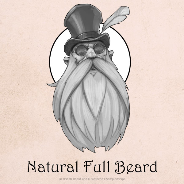 Natural Full Beard Category