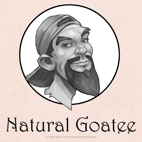 Natural Goatee Partial Beard Category